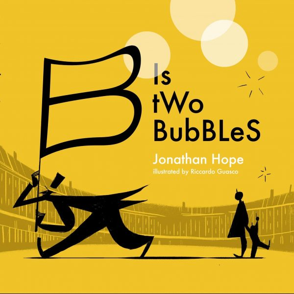 Book cover for B is Two Bubbles by Jonathan Hope